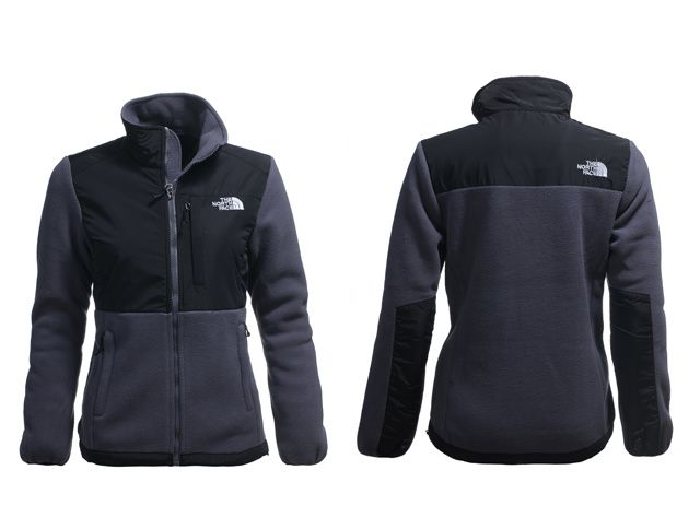 2013 North Face Jacket For Women High Quality TNF Black Gray for $70