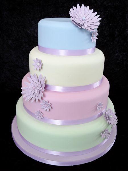 Pastel Wedding Cake Beautiful Cakes Pinterest