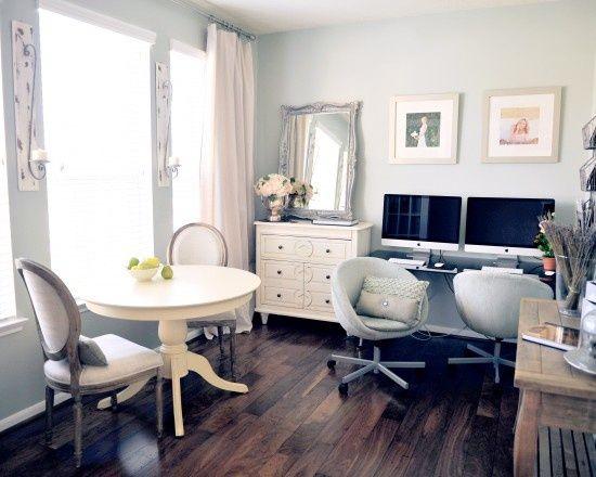 pin by kim cummings on shabby chic office desks pinterest. Black Bedroom Furniture Sets. Home Design Ideas