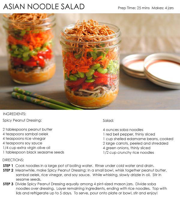 Asian Noodle Salad | Healthy Recipes | Pinterest