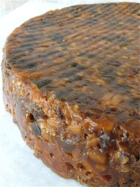 Panforte. Though this apparently isn't a traditional recipe (first ...