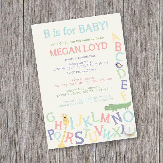 safari alphabet theme printable baby shower invitation on etsy 12