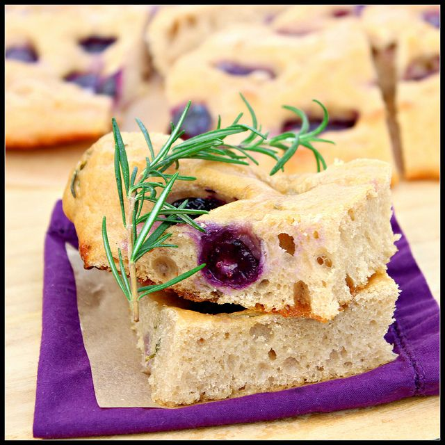 Multigrain Focaccia with Grapes and Rosemary by What About Second ...