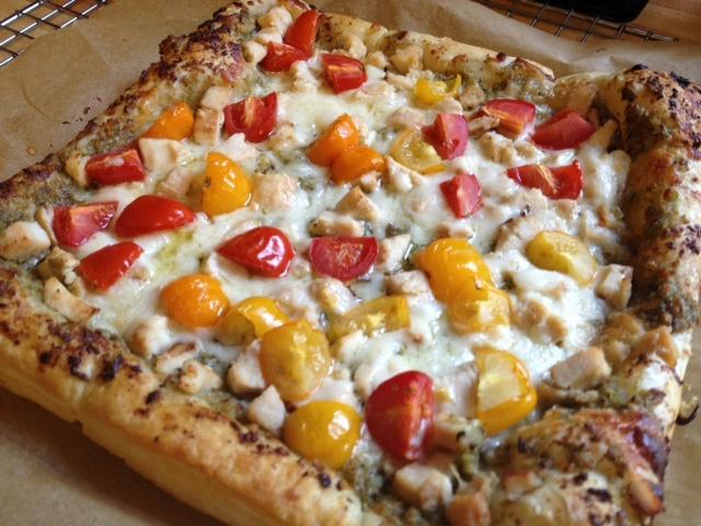 chicken pesto tart 2 | Adventures in cooking from the garden | Pinter ...