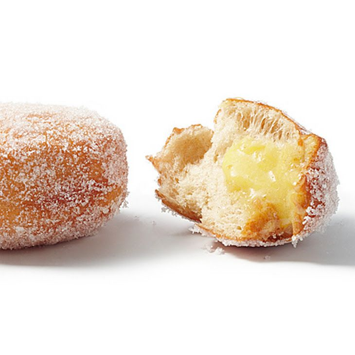 Sufganiyot (Hanukkah Donuts) with Ginger-Lime Curd Recipe