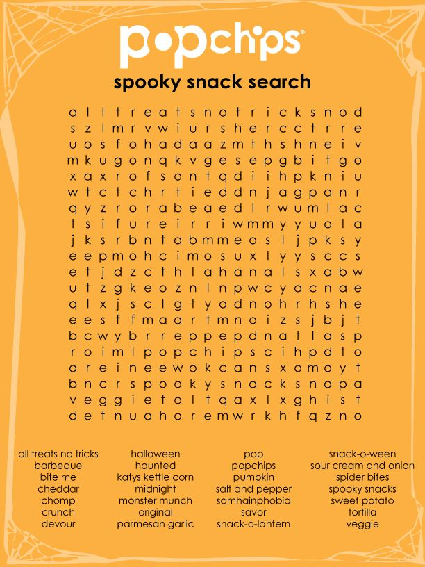 printable halloween word search | no tricks. just treats. | Pinterest