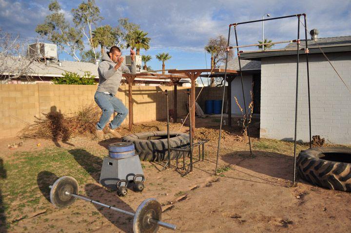 Backyard Gym Building : backyards