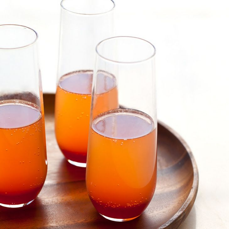 Spicy Blood Orange Champagne Punch | It's 5 o'clock Somwhere | Pinter...