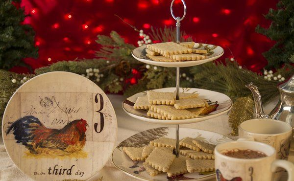 French Hen Almond Sables #recipes #cookies #entertaining #christmas # ...