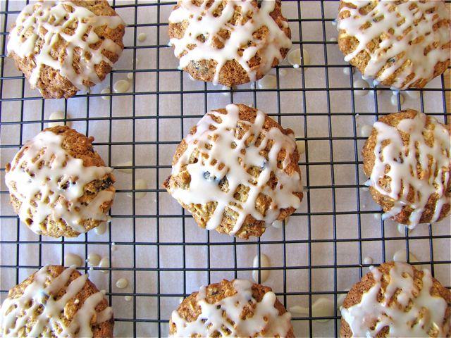 Iced Oatmeal Applesauce Cookies | Food!!! | Pinterest