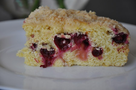 cranberry buckle @ pizzellesbakery.com | Something Sweet | Pinterest