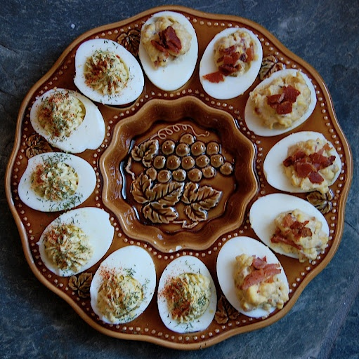 Bacon-Balsamic Deviled Eggs | Everything is Better with Bacon! | Pint ...