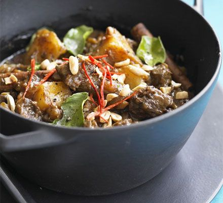 BEEF MASSAMAN CURRY: unsalted peanuts / coconut cream / massaman curry ...