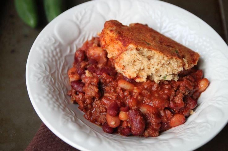 Chili Beans and Cornbread Casserole | Southern Gospel of Cornbread ...