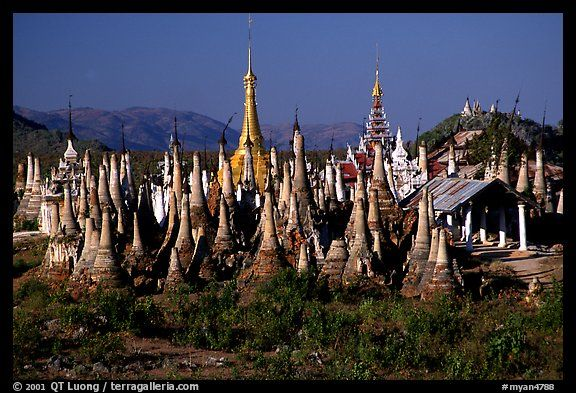 Inle Lake Myanmar  city pictures gallery : Stupas, Indein. Inle Lake, Myanmar | CITIES & TOWNS | Pinterest