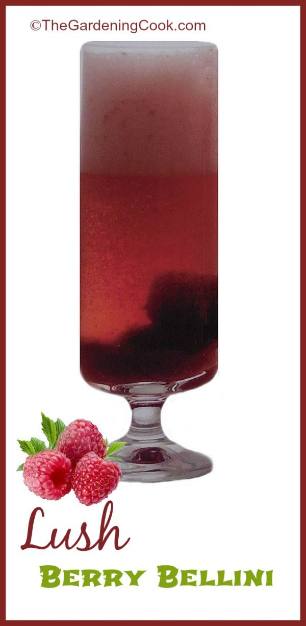 Lush Berry Bellini Cocktail   Recipe
