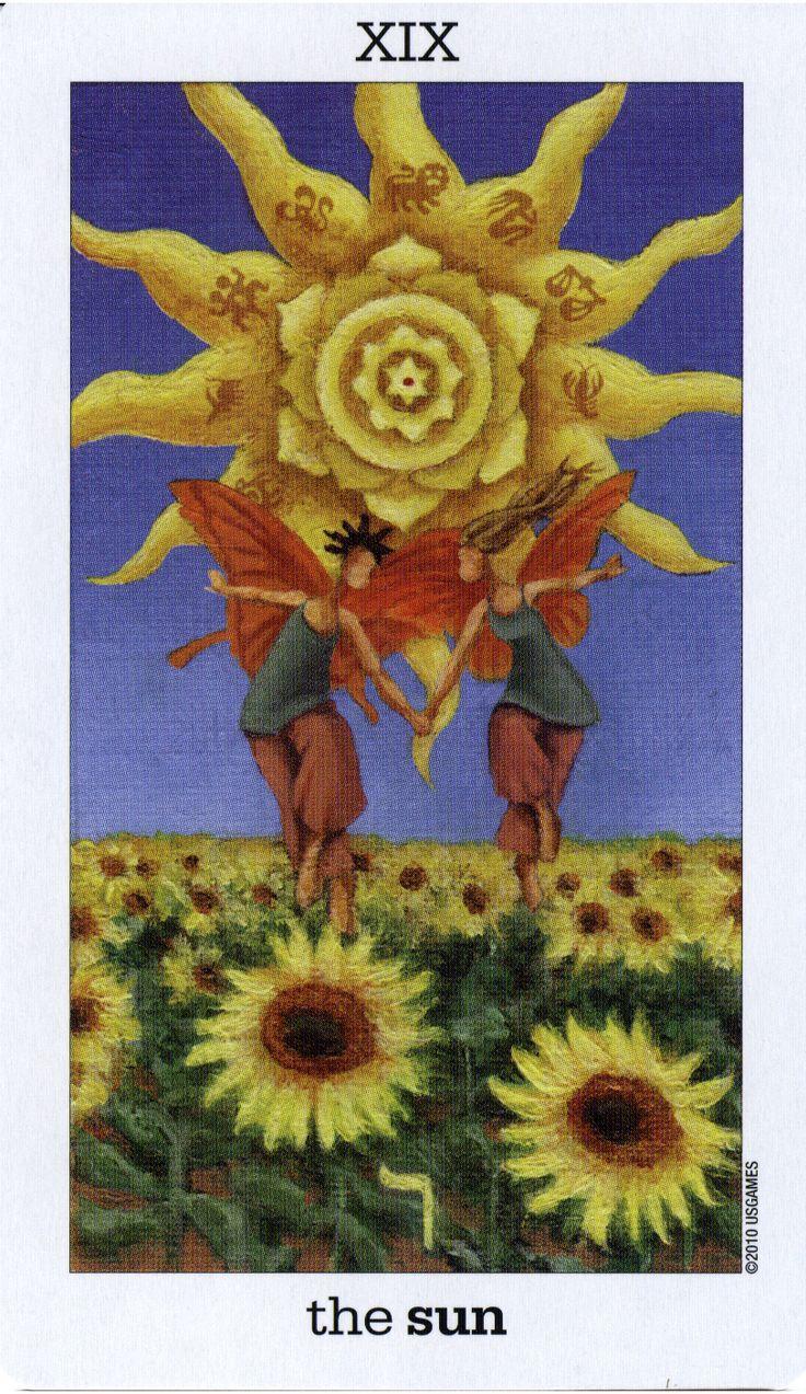 the sun and the moon tarot
