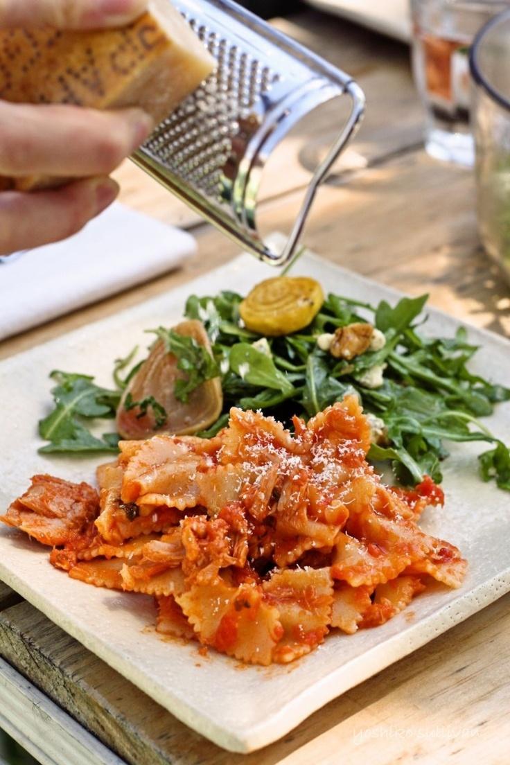 Tuna and tomato sauce pasta | Favorite Dishes | Pinterest