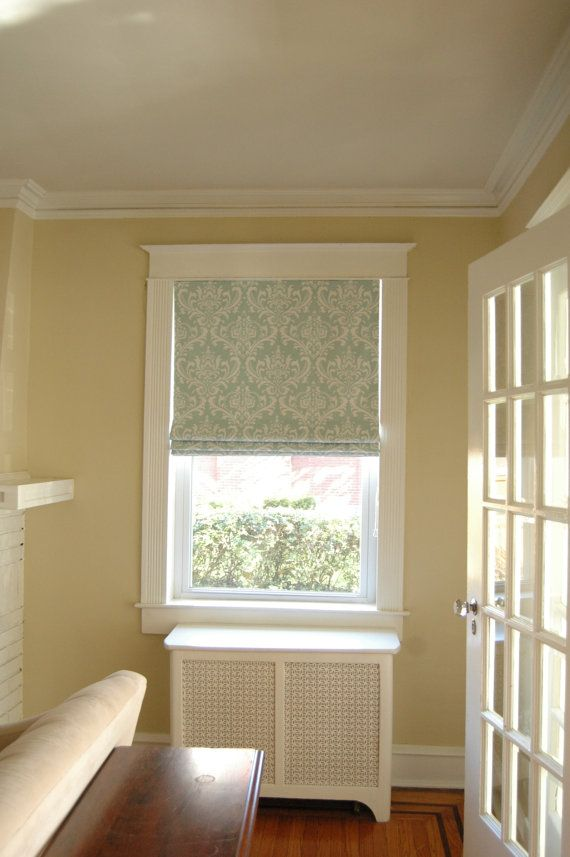Custom Made Roman Shades. If you have a specific fabric that you want ...