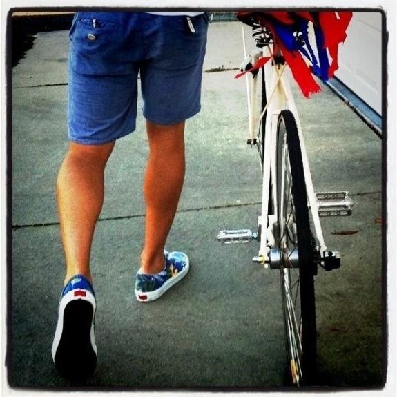 our bike parade!!