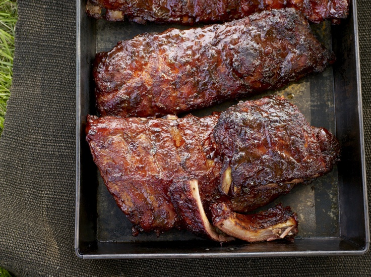 Baby Back Pork Ribs Glazed with Honey | Recipe