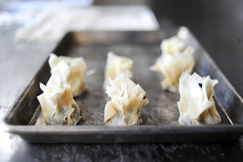 ... phyllo cups pears in phyllo cups mushroom phyllo bundles chop up the