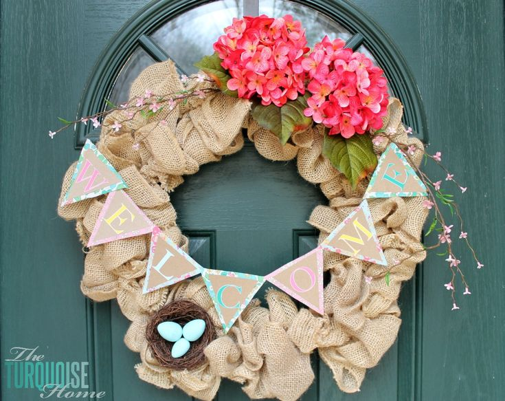 Burlap Spring Wreath and Silhouette Sale!!
