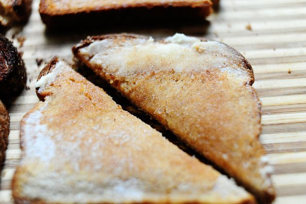 Cinnamon sugar toast the right way- pioneer woman