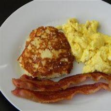 Bacon Cheddar Patty Cakes Recipe | Yum! | Pinterest