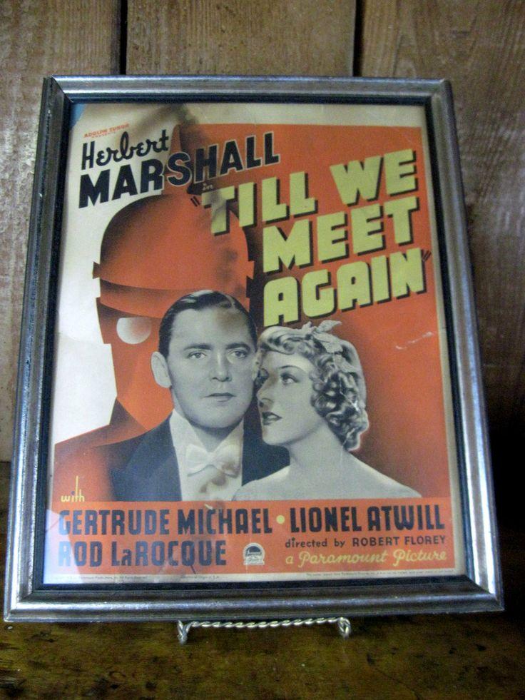 Poster 'till we Meet Again