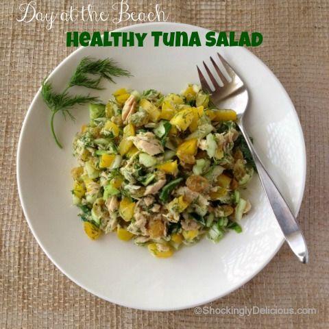 Healthy Tuna Salad | Cute and Healthy Food! | Pinterest