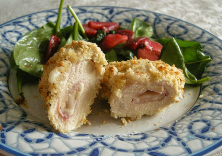 Chicken Cordon Bleu Roll Ups | T&T Cooking and Baking | Pinterest