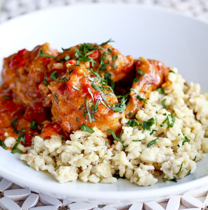 Chicken Paprikash | Favorite Recipes | Pinterest