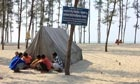 """Bangladesh's climate refugees: 'it's a question of life' – ...  Many Bangladeshis have relocated from the vanishing island of Kutubdia in the Bay of Bengal to Cox's Bazaar. But they are being asked to move once again as sea levels rise and people's livelihoods are put at risk by climate change..."""