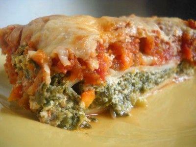 Easy Spinach Lasagne/Manicotti