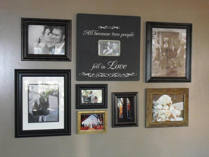 Living Room Wall Collage For The Home Pinterest
