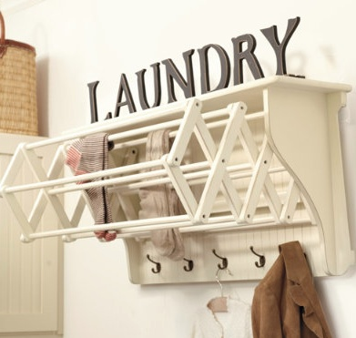 drying rack from ballard designs laundry room ideas