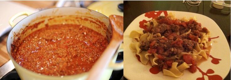 Pastor Ryan's Bolognese Sauce | Recipe