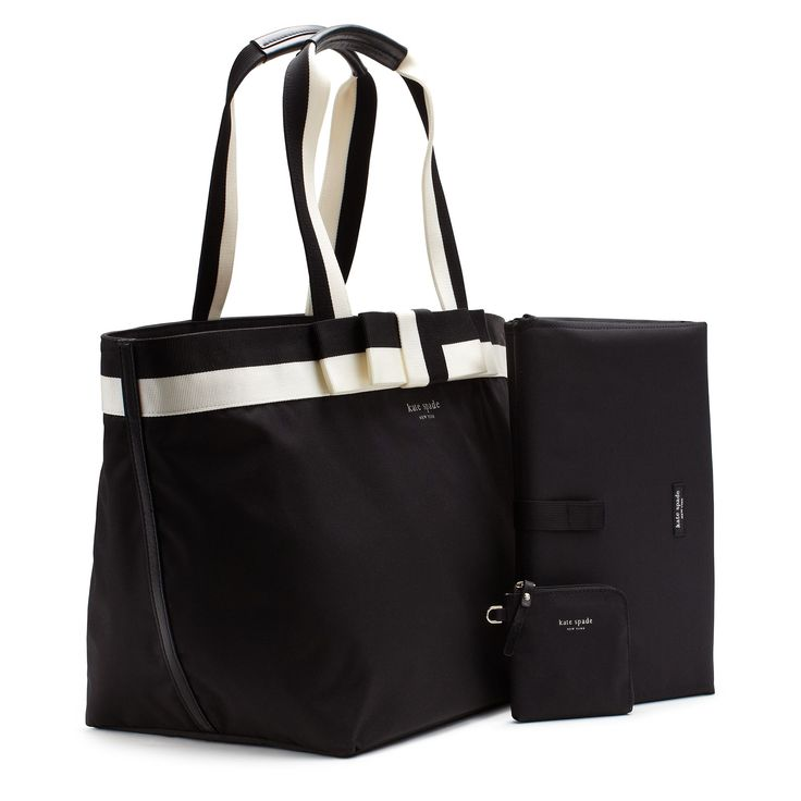 kate spade diaper bag child care pinterest. Black Bedroom Furniture Sets. Home Design Ideas