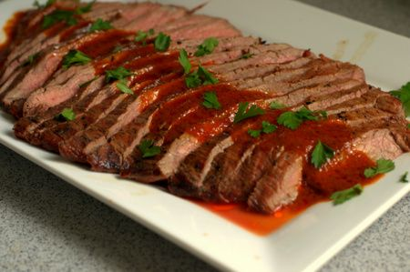 Team Traeger | Bloody Mary Flank Steak | Traeger Recipes | Pinterest