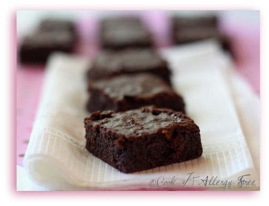 Cook IT Allergy Free #brownies — easily adapted to egg-free
