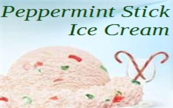 Peppermint Stick Ice Cream Recipe — Dishmaps