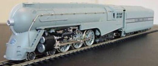 N Scale Rivarossi NYC Dreyfuss Hudson Steam Locomotive.