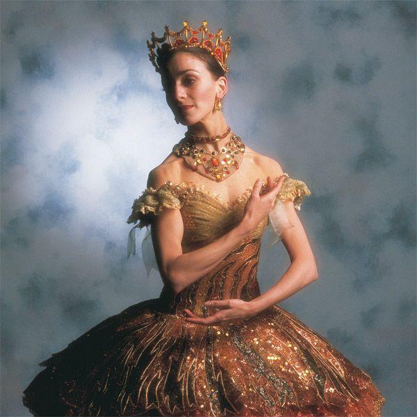 Vicki Attard as Clara in the Australian Ballet production of Nutcracker - the story of Clara