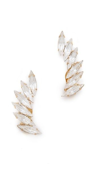 Shop now: Shay Accessories clip on ear crawlers