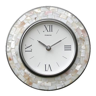 abalone mosaic wall clock | For the Home | Pinterest