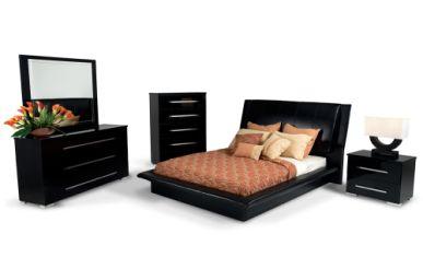 sleek Dimora bedroom set