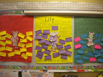 character traits using Kevin Henkes books