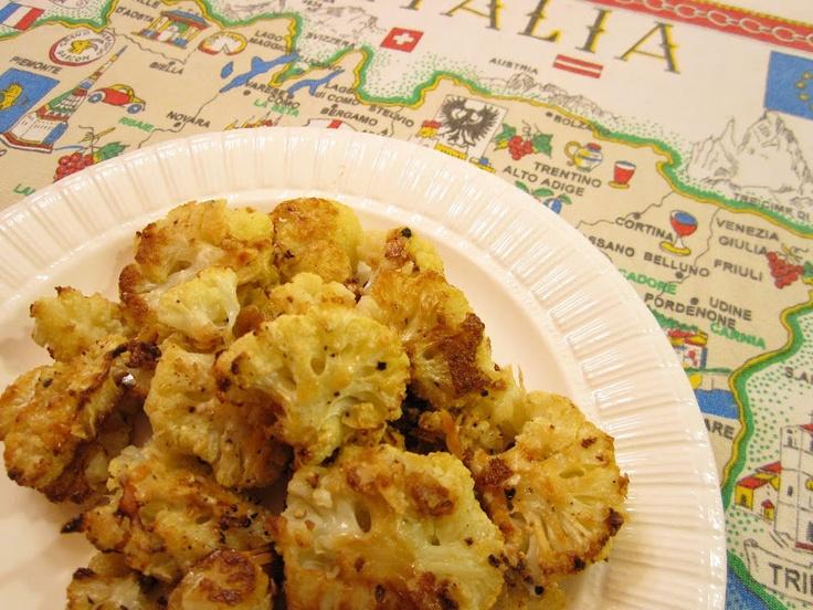 Parmesan Roasted Cauliflower | Recipe