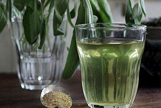North African Sage n' Green Tea #recipe | Hot Chocolate & Teas | Pint...